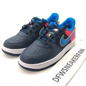 Nike Air Force 1 Low Toddler Size 12C Blue Shoes